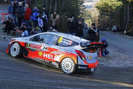 Hyundai i20 WRC de Dani Sordo