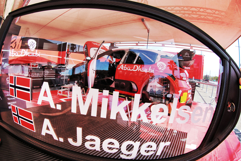 Andreas Mikkelsen en Citroën