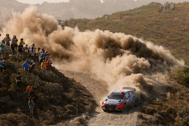 Dani Sordo, en el Rally de Italia 2016