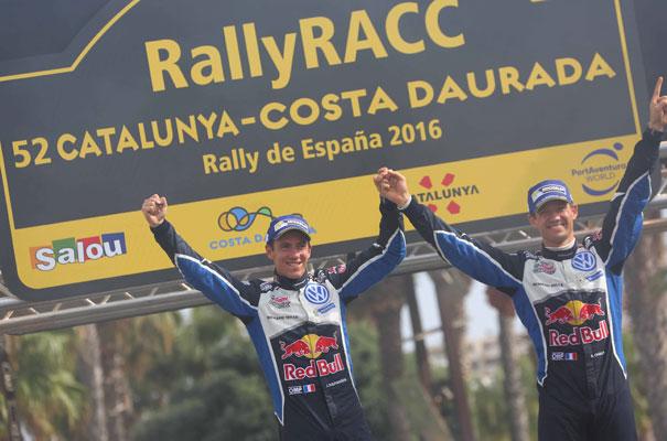 Ogier, campeón del mundo en el Rallye de España 2016