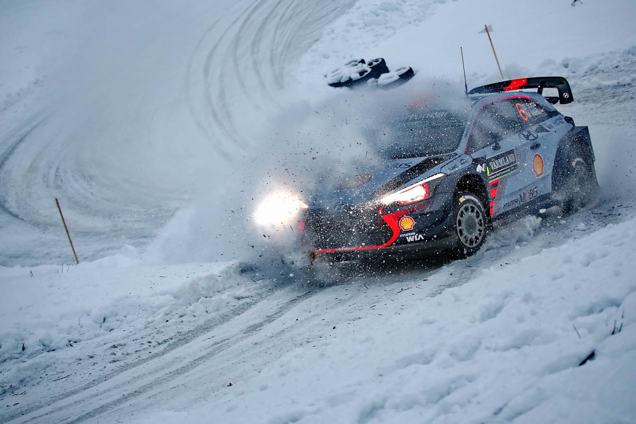 Hyundai en el Rally de Suecia 2017