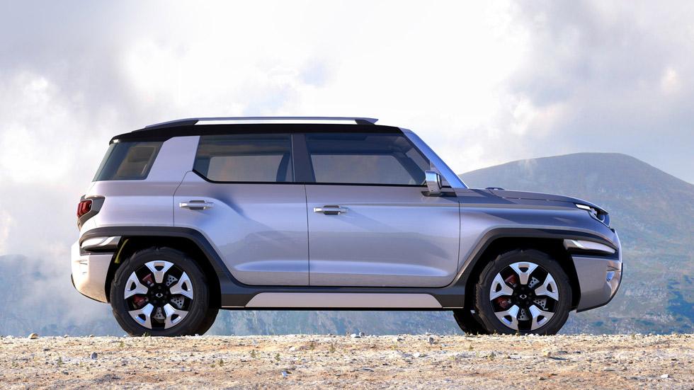 SsangYong XAV Concept, un SUV reivindicativo