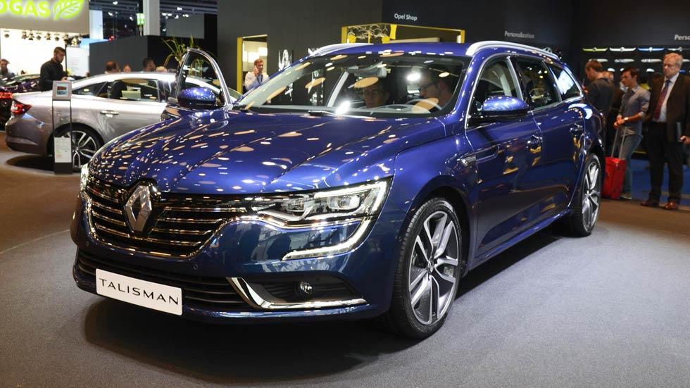 Renault Talisman, la nueva berlina que sustituirá al Laguna