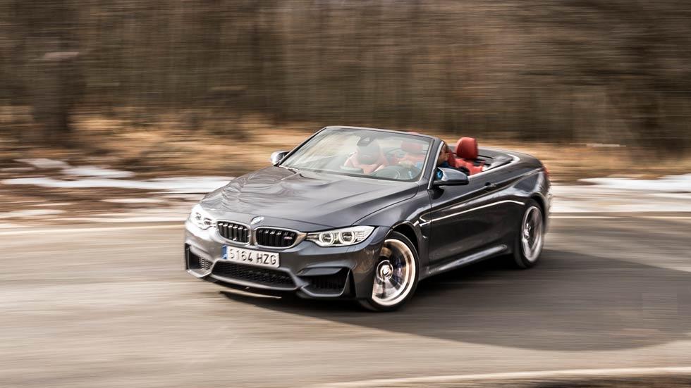 BMW M4 Cabrio, la furia del viento