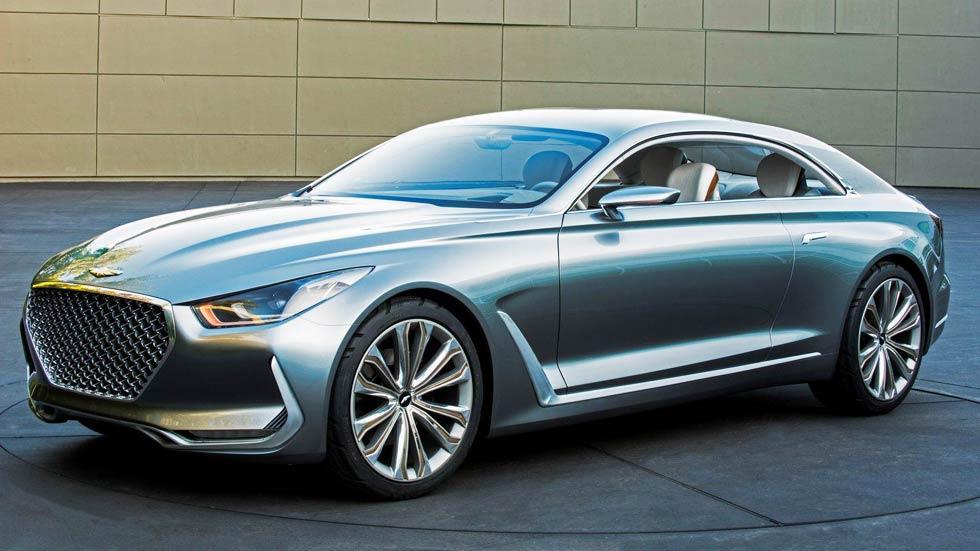 Hyundai Vision G Concept Coupé, pura seducción sobre ruedas