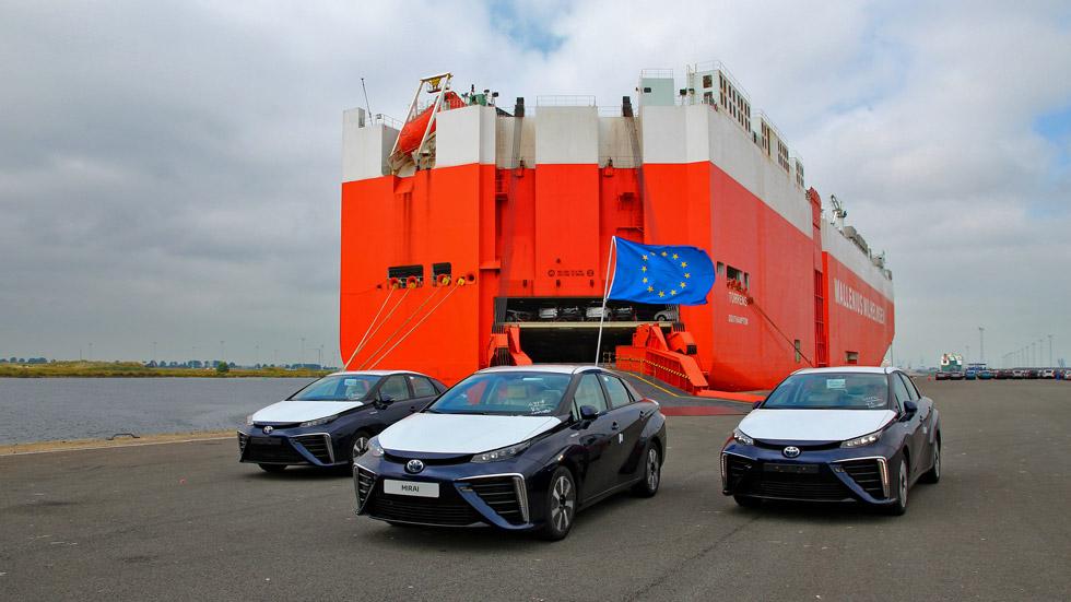 El Toyota Mirai de hidrógeno, a la venta en septiembre
