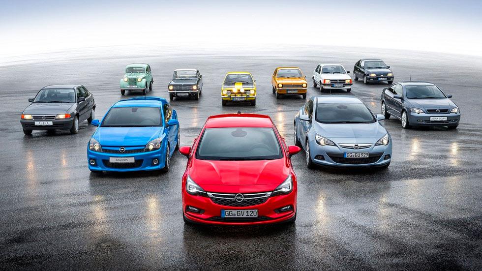 Del Opel Kadett al Astra: la historia de dos compactos repletos de éxito