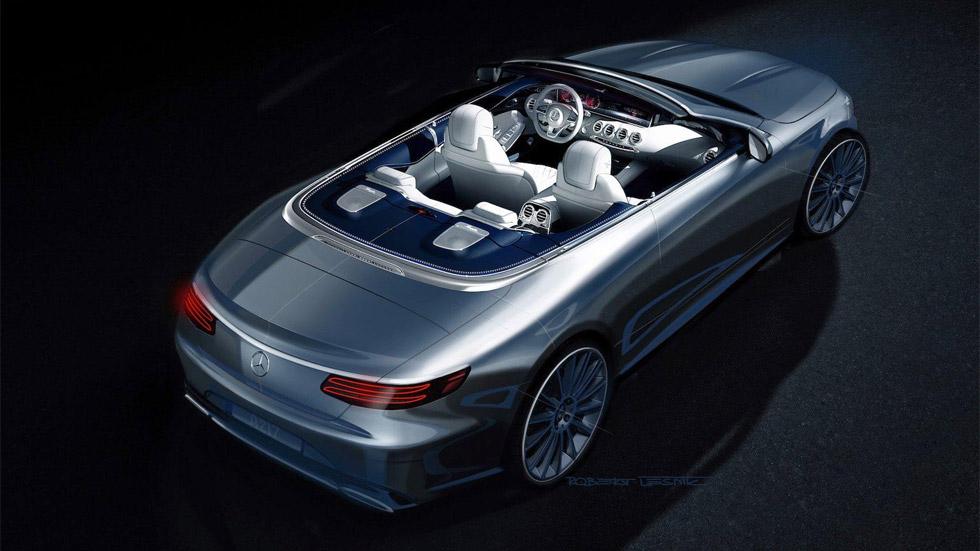 Primera imagen del Mercedes-Benz Clase S Cabrio