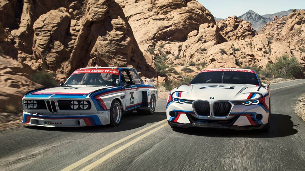 BMW 3.0 CSL Hommage R, 40 años después. Vídeo y fotos