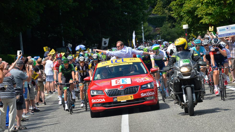 Skoda, de nuevo coche oficial de la Vuelta Ciclista a España