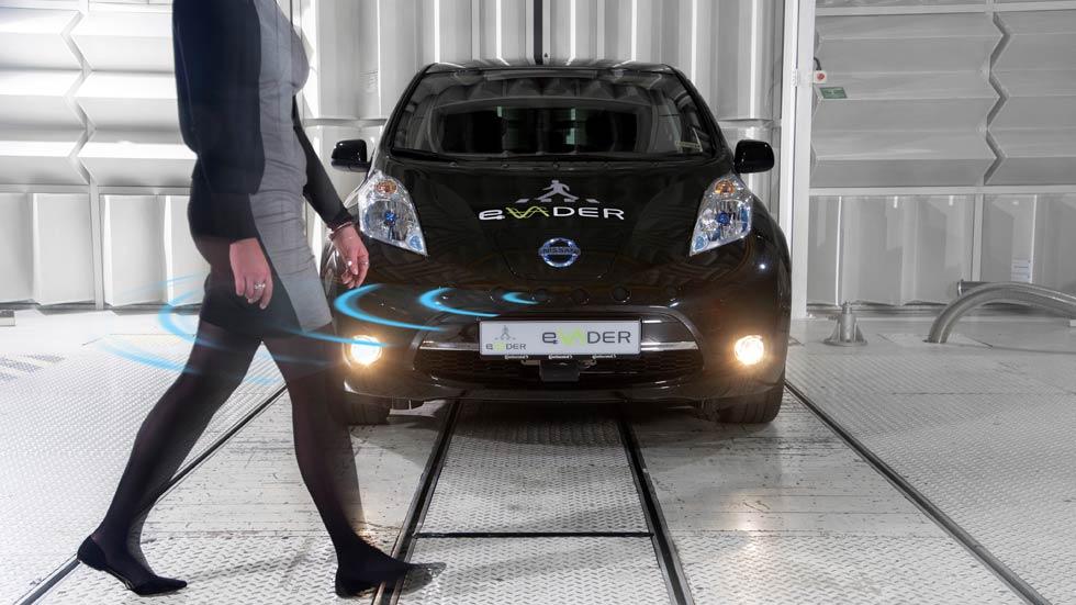Los eléctricos de Nissan avisarán con sonido artificial a los peatones