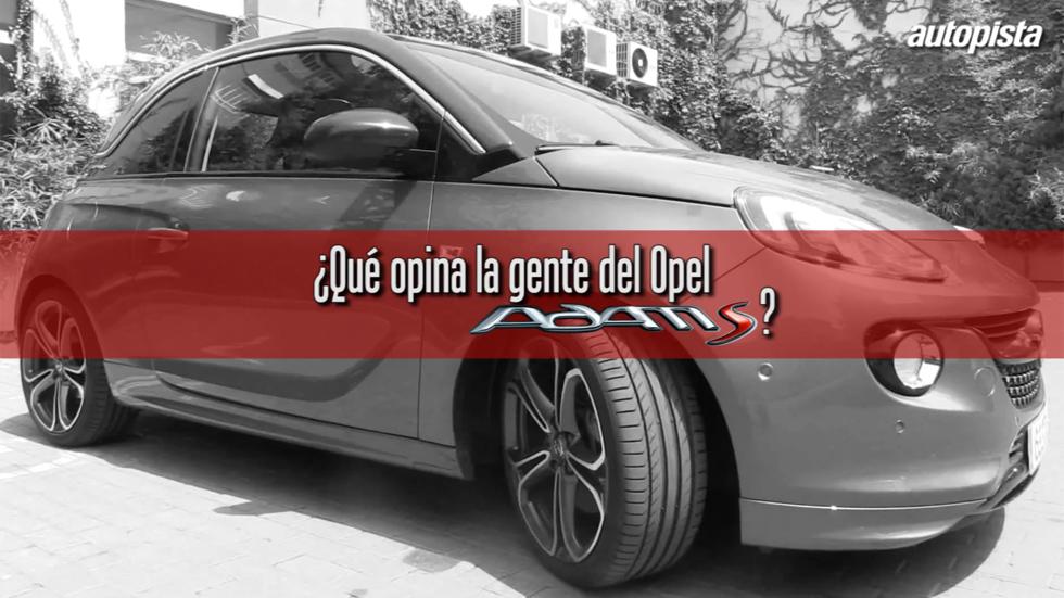¿Qué opinan los conductores del Opel Adam S? (VÍDEO)