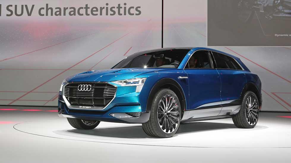 Audi e-tron quattro Concept, SUV eléctrico de más de 500 km de autonomía