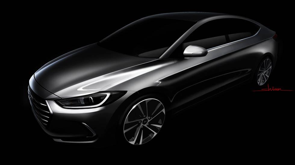Hyundai Elantra 2016, primera imagen