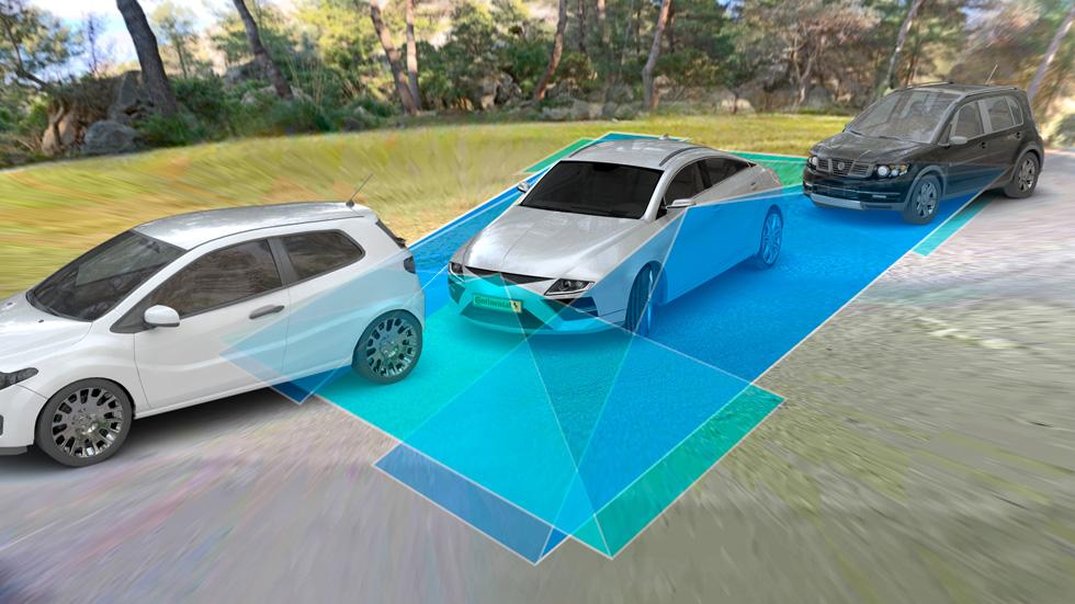 Continental y su nuevo sistema de aparcamiento automático