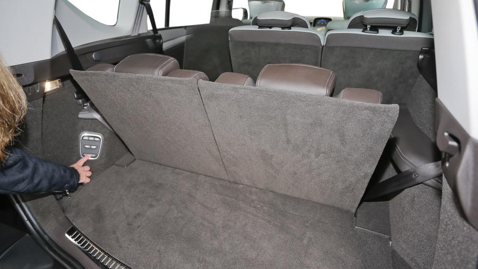 Soluciones prácticas, plegado de asientos automático