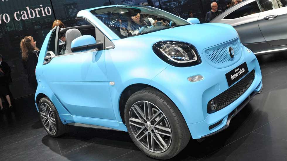 Smart ForTwo Cabrio 2016, encanto en formato pequeño