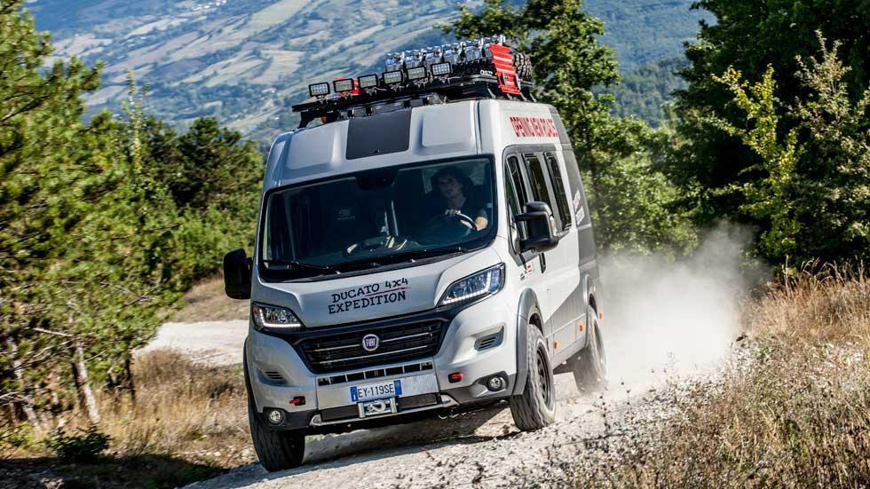 Fiat Ducato 4x4 Expedition, el vehículo comercial más aventurero