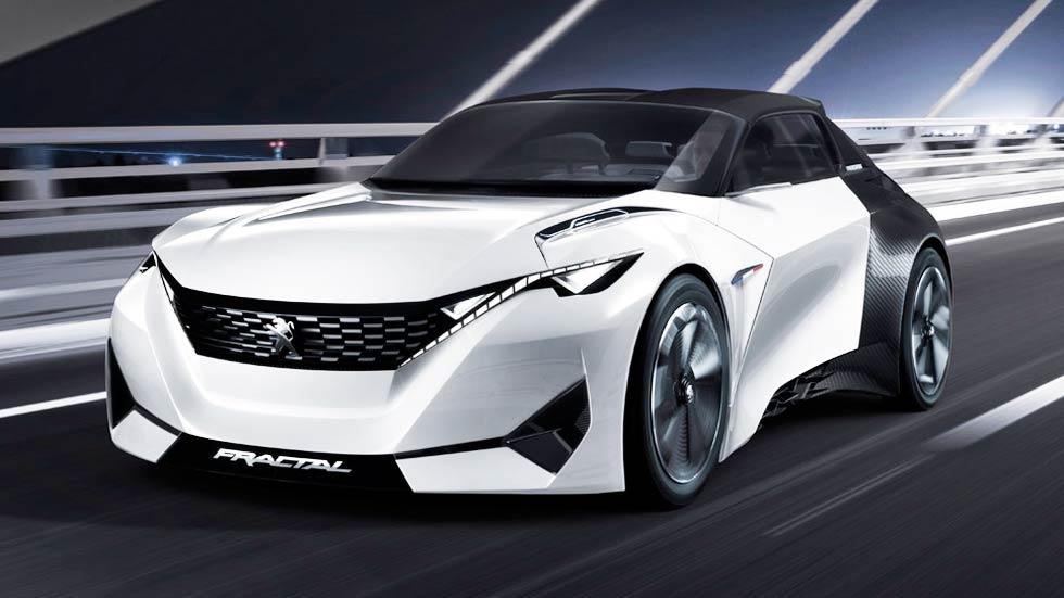 Peugeot Fractal, llega el coupé urbano (vídeo)
