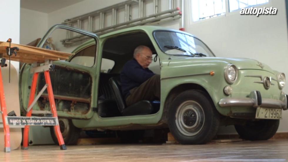 El 'Macgyver' de Málaga y su pasión por los Seat (vídeo)