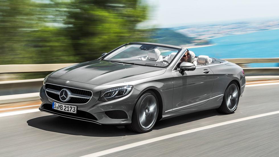 Mercedes Clase S Cabriolet, tocando el cielo (fotos y vídeo)