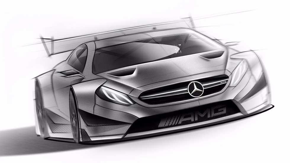 Mercedes-AMG C63 DTM 2016, se prepara el nuevo misil para el DTM