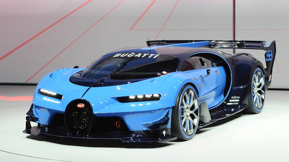 Bugatti Vision Gran Turismo, una súper bestia... de videojuegos