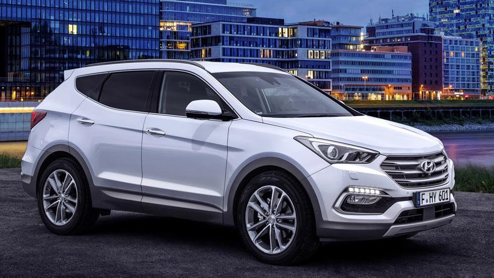 Hyundai Santa Fe 2016, más y mejor en Frankfurt 2015