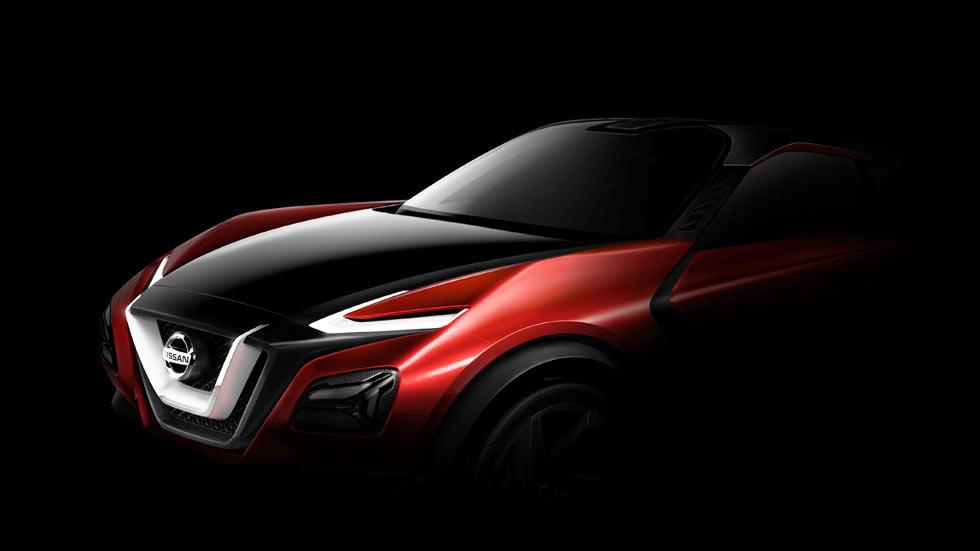 Nissan Gripz Concept, ¿el anticipo del nuevo Juke 2016?