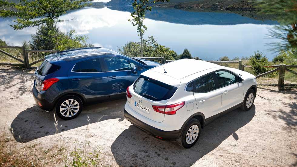 Opel Mokka 1.6 CDTi contra Nissan Qashqai 1.6 dCi