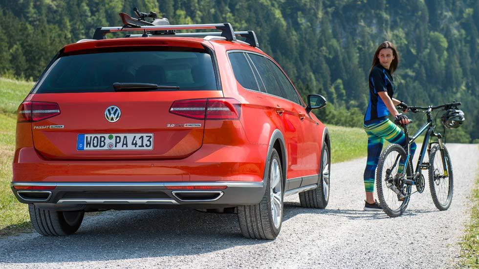VW Passat Alltrack, el fuera pistas