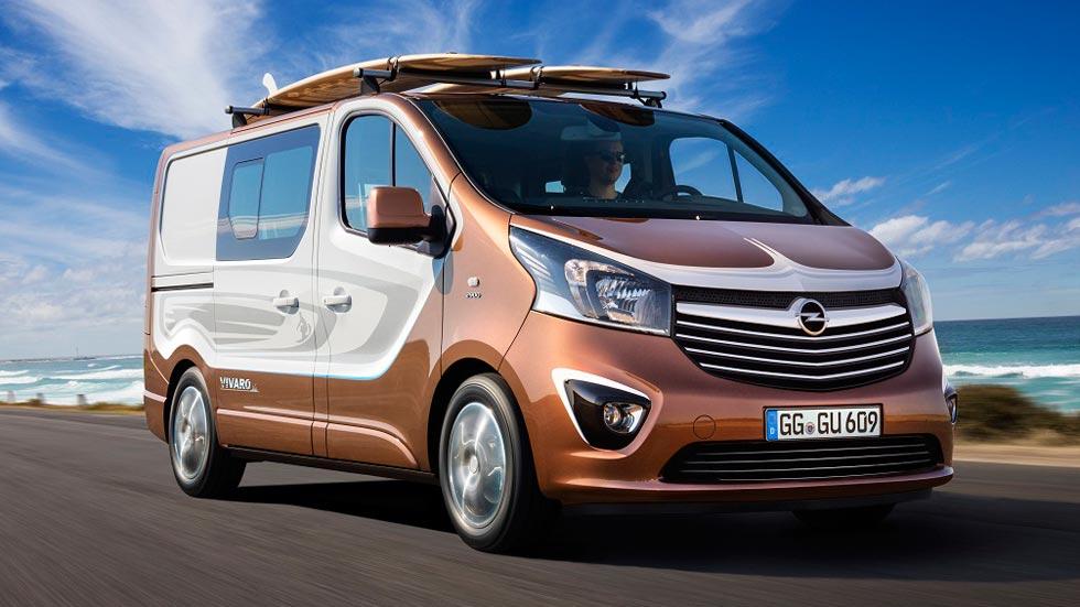 Opel Vivaro Surf, ocio para el Salón de Frankfurt