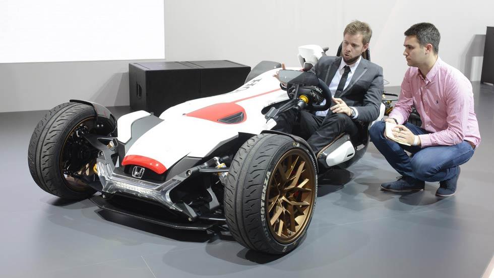 Honda Project 2&4, un mini F1 con motor de MotoGP