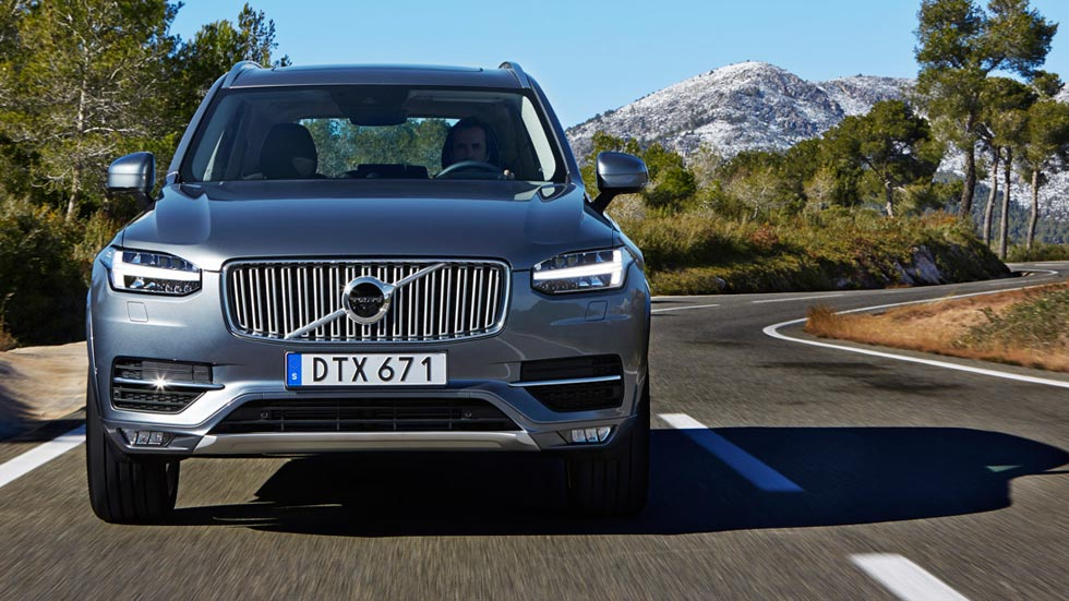 Ven a probar el nuevo Volvo XC90 en circuito