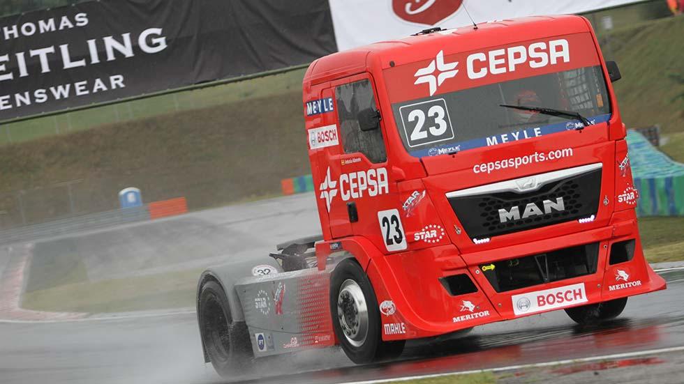 Gana una entrada para el GP de Camión de España con Transporte Mundial