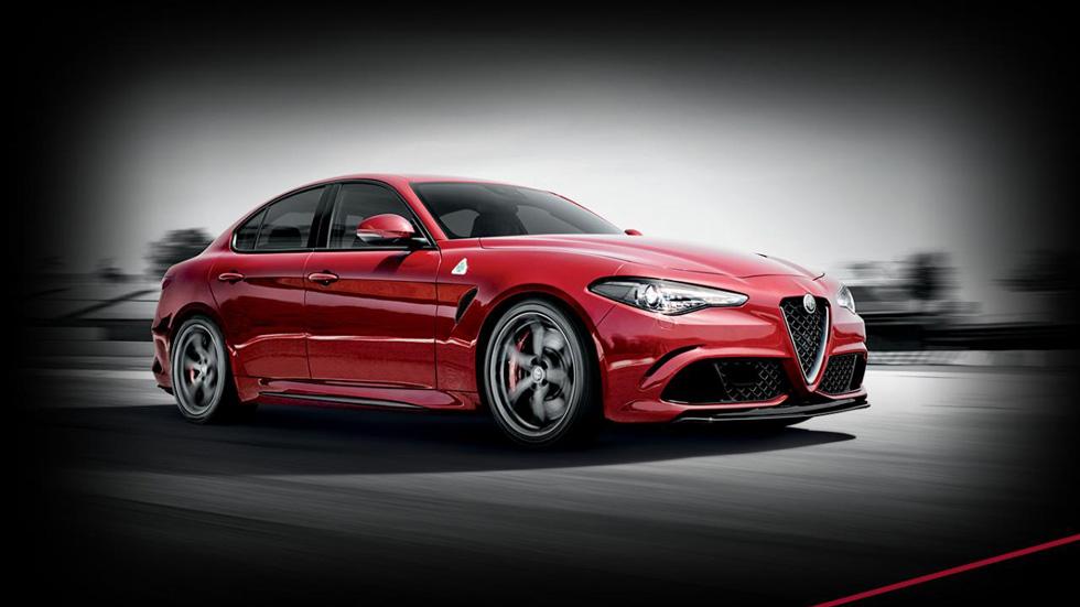 Alfa Romeo Giulia Quadrifoglio Verde, primeras imágenes de su interior (vídeo)