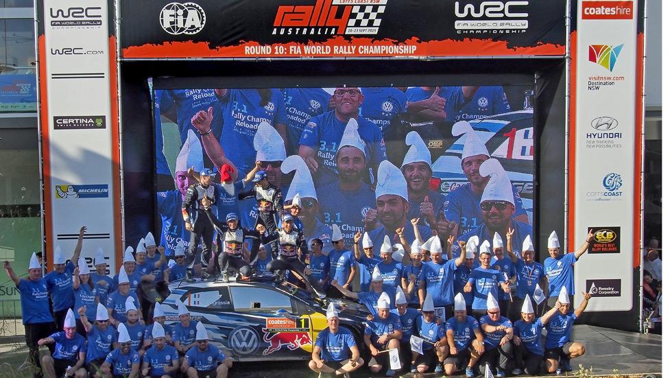 Rallye de Australia - final: Ogier y Volkswagen, campeones