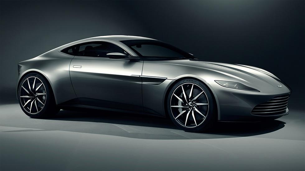 Vídeo: el Aston Martin DB10 de James Bond ya derrapa
