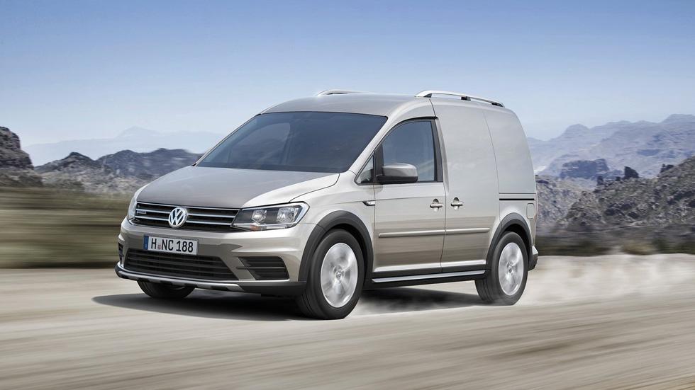Volkswagen Caddy Alltrack, espíritu campero