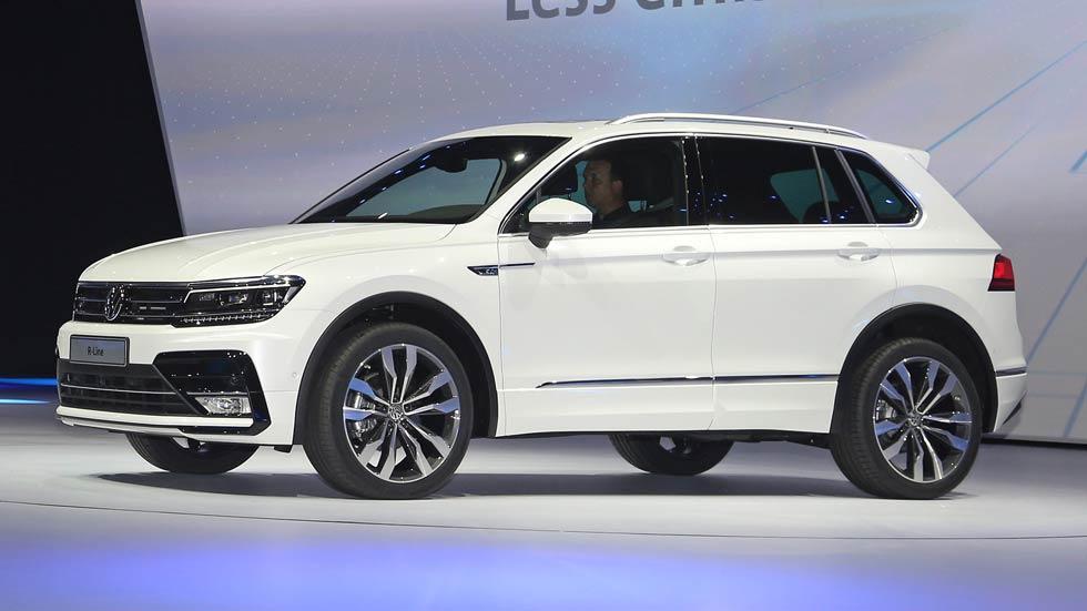 VW Tiguan 2016: fotos y datos oficiales de la segunda generación
