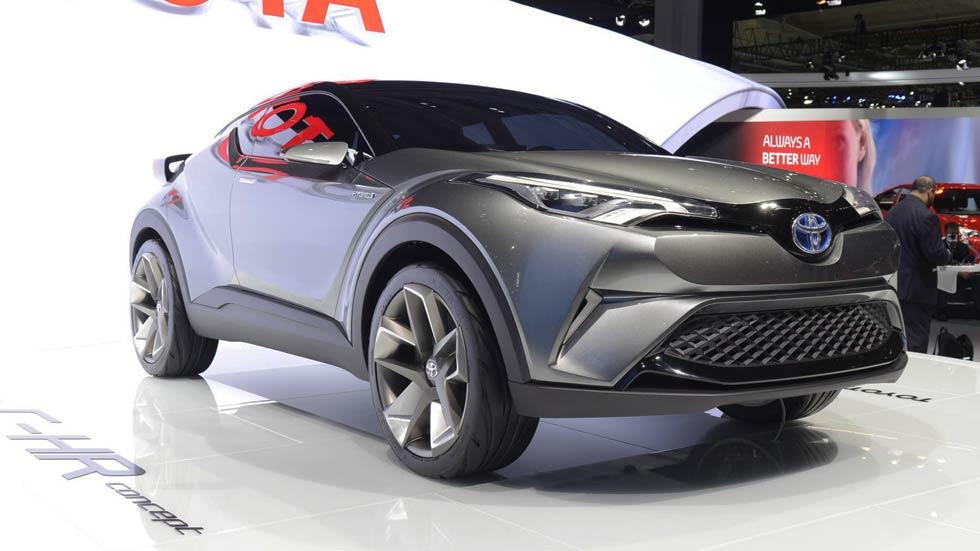 Toyota C-HR Concept, el SUV pequeño que faltaba