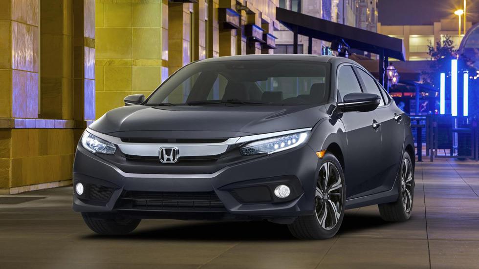 Nuevo Civic Sedan 2015, con el primer turbo de Honda para EE.UU.