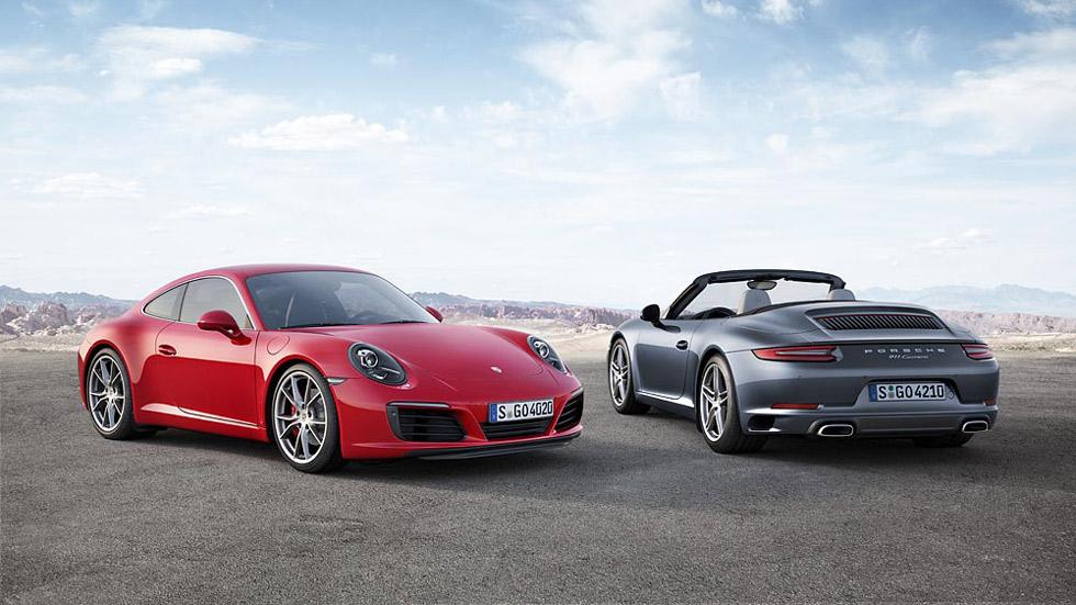 Porsche 911 Carrera y Carrera S: así son sus motores turbo