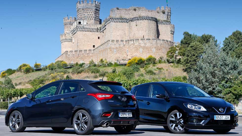 Hyundai i30 1.6 TGDi Turbo contra Nissan Pulsar 1.6 DIG-T, ¿verdaderos GTI?