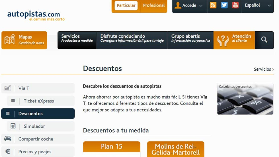 Abertis web
