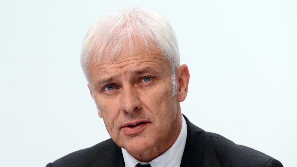 Matthias Müller, nuevo CEO del Grupo Volkswagen