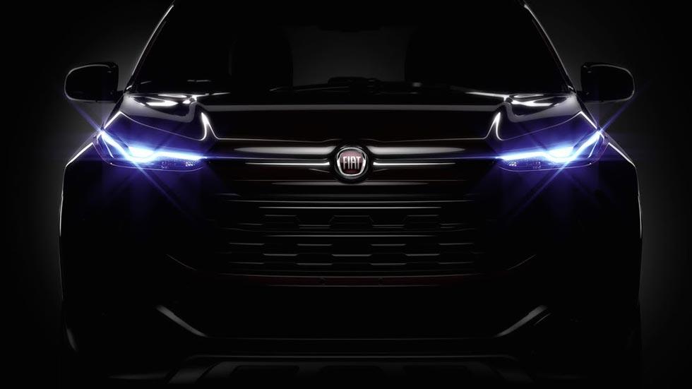 Fiat Toro 2016, primera imagen oficial de la nueva pick-up