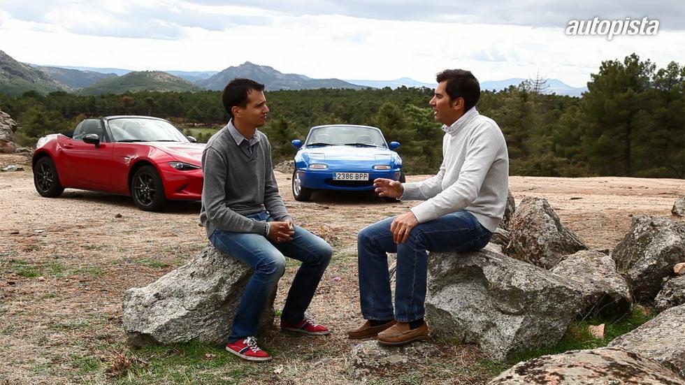 Mazda MX-5, el descapotable de las mil y una historias (vídeo)