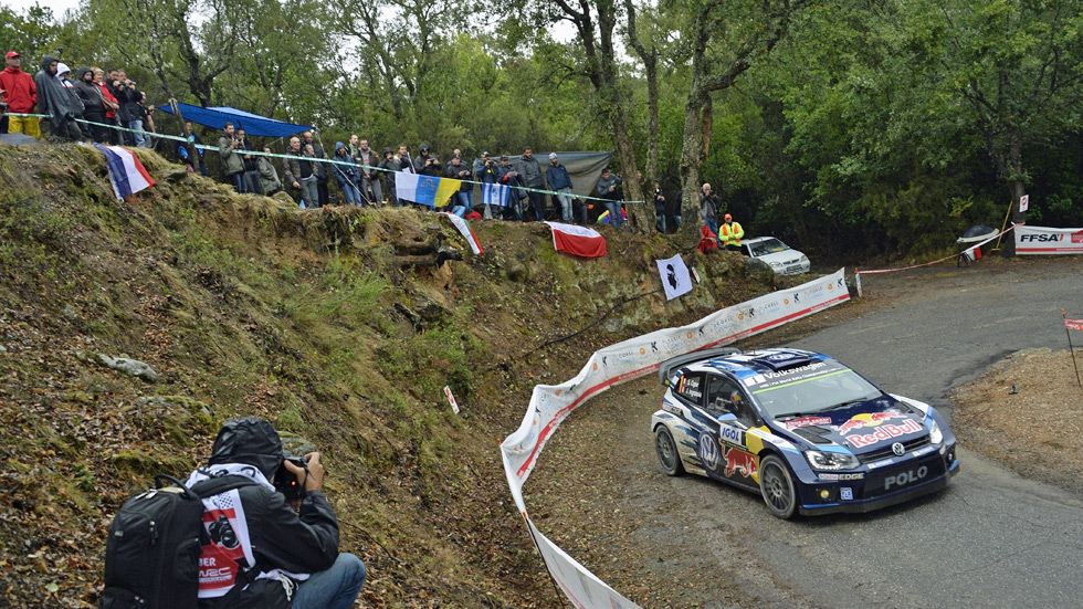 Rallye Tour de Córcega – Ogier y Kubica comparten liderato tras el primer tramo