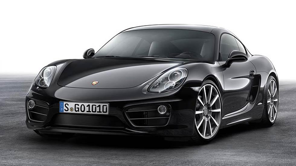 Porsche Cayman Black Edition, deportividad con estilo